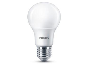 Dæmpbar Philips LED pære - E27 - 9,5 watt (60W)