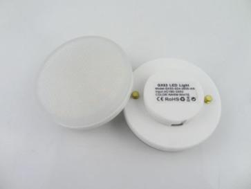 GX53-LED pære til indbygningsspot 4 watt
