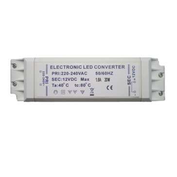 LED transformator 12 volt 20 watt