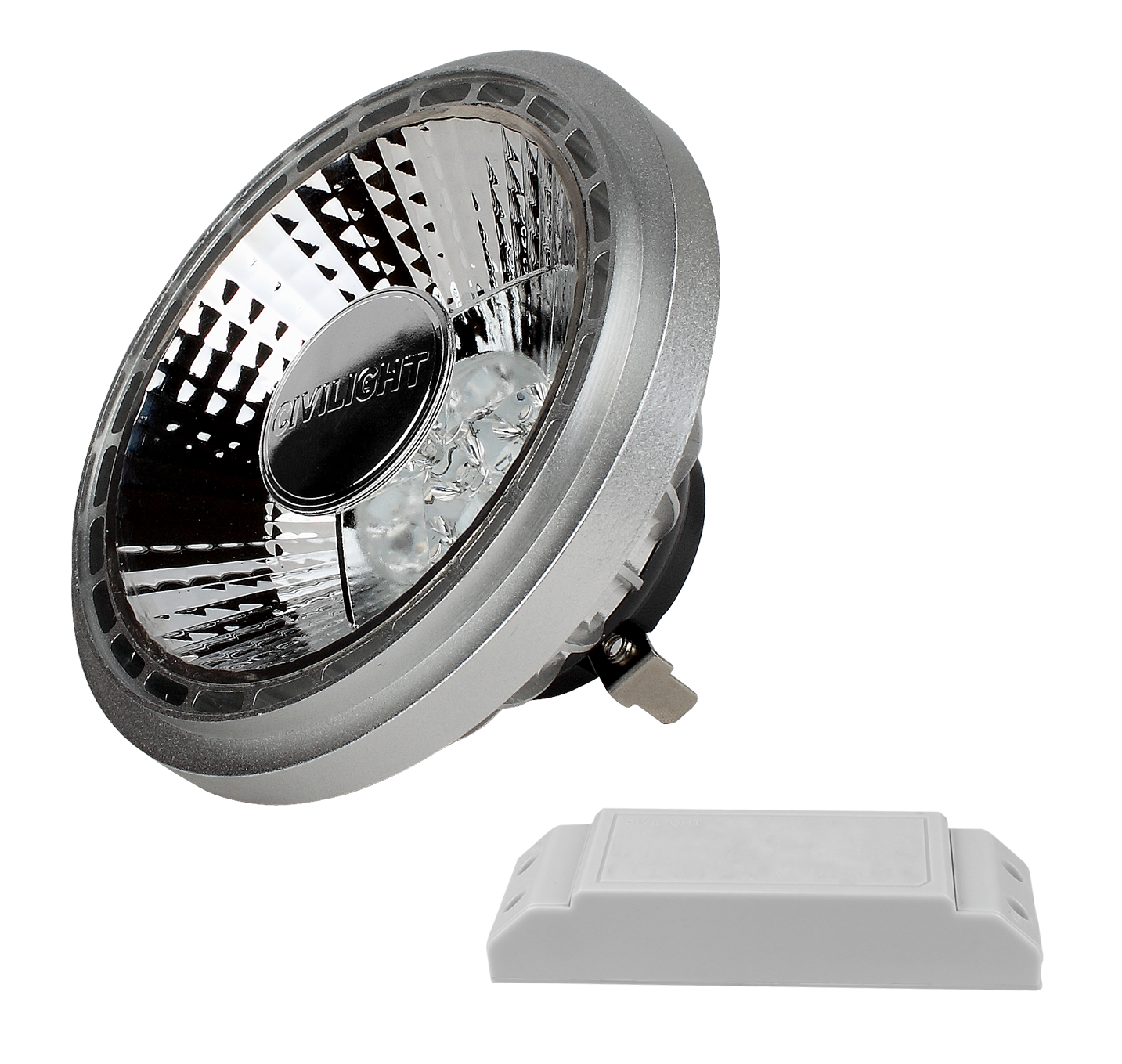 Image of   Civilight AR111 25 watt (100W) dæmpbar 2.700 Kelvin
