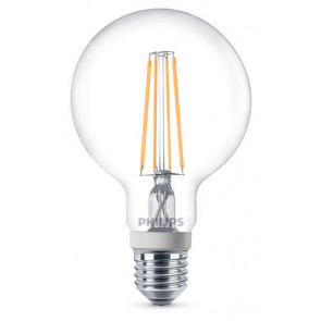 Dæmpbar Philips LED globepære - E27 - 7 watt (60W)