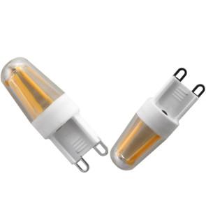 Dæmpbar G9 LED filament pære - 2 watt - 180 lumen