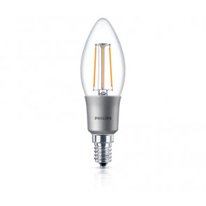Dæmpbar Philips LED kertepære - E14 - 5 watt (40W)