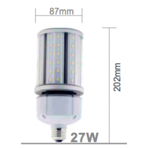 E27 - 27 watt corn light 4.000 Kelvin