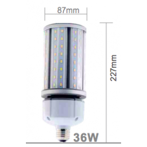 E27 - 36 watt corn light 4.000 Kelvin