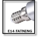 LED E14 FATNING