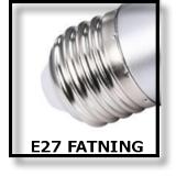 LED E27 FATNING