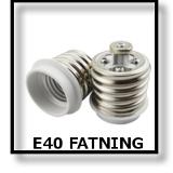 LED E40 FATNING