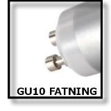 LED GU10 FATNING