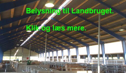 Belysning til Landbruget.
