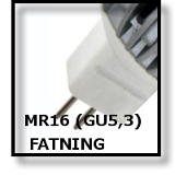 LED MR16 FATNING