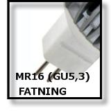 LED MR16 FATNING